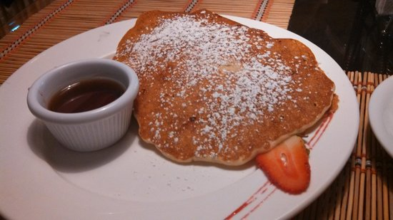 Adventure Inn: Banana nut pancakes. The best!