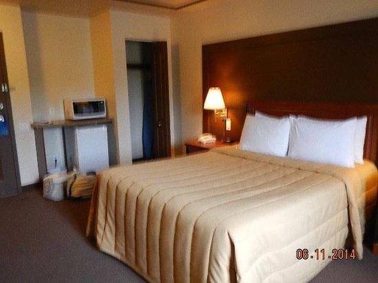 Hotel Motel Bonaparte : bedroom
