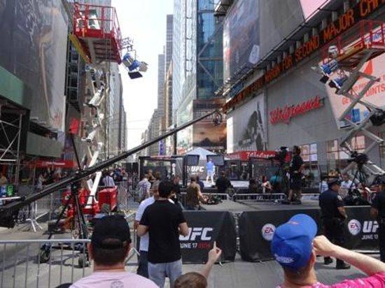 Times Square Visitors Center : Octogono