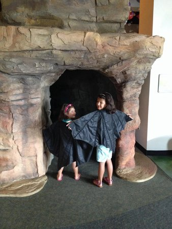 McKenna Children's Museum: Bat cave and costumes
