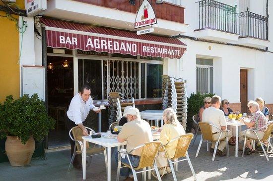 La Posada Del Infante: We ate here which was just fine!