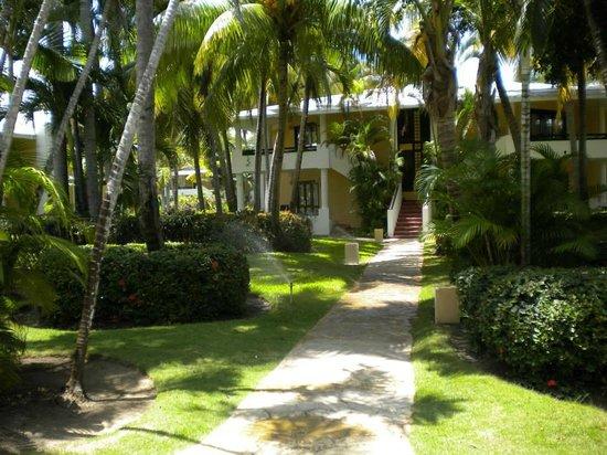 Bavaro Princess All Suites Resort, Spa & Casino: View of the grounds