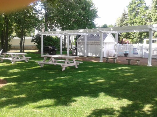 Pink Blossoms Resort (Family Suites): BBQ /picnic tables