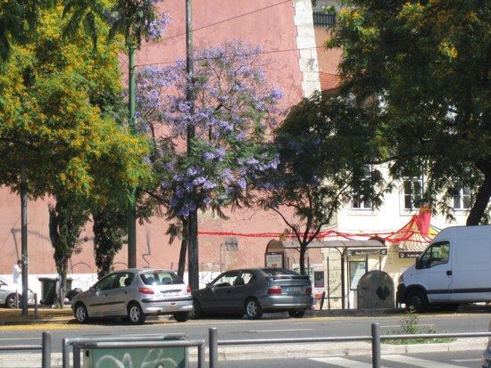 As Janelas Verdes: street scene