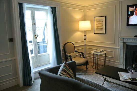 Hotel Maria Cristina, a Luxury Collection Hotel, San Sebastian: Terrace Suite Lounge