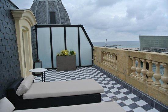 Hotel Maria Cristina, a Luxury Collection Hotel, San Sebastian: Terrace Suite Balcony