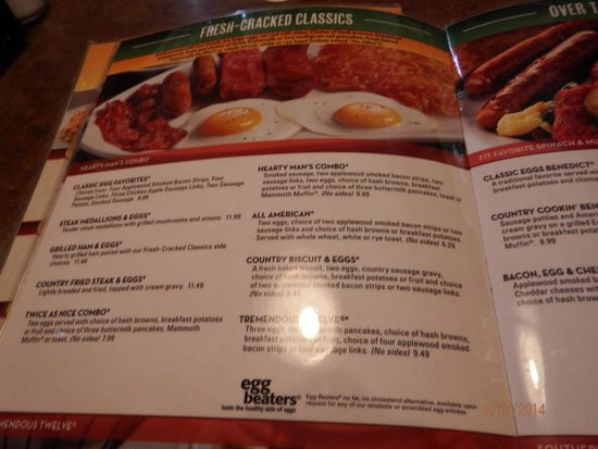 Menu Picture Of Perkins Restaurant Bakery Jefferson City Tripadvisor