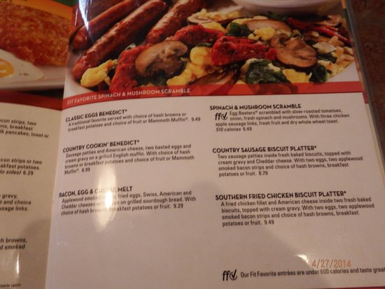 Perkins Restaurant and Bakery: menu side 2