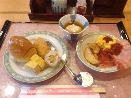 Dogo Prince Hotel : 朝食です