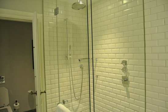 Hotel Maria Cristina, a Luxury Collection Hotel, San Sebastian : Terrace Suite Shower