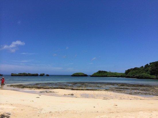 Hoshisuna Beach : 景観