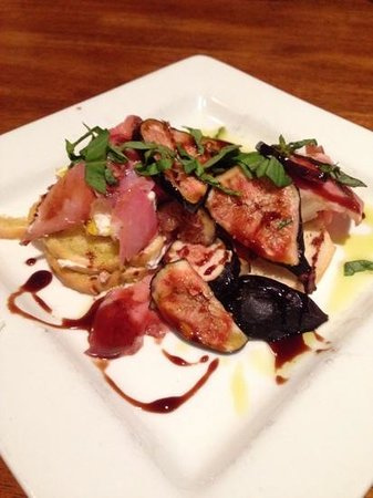 The Dancing Fig: Fresh Fig Appetizer