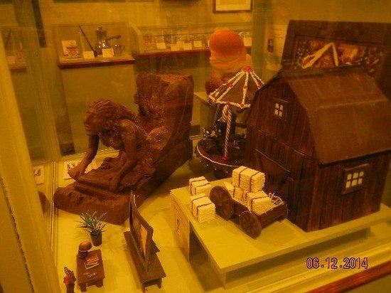 Erico - Creative Chocolate Shop and Chocolate Museum : museum items