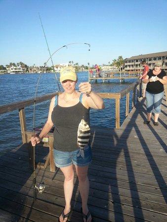Surfside Inn Suites: Fishing here is a blast!