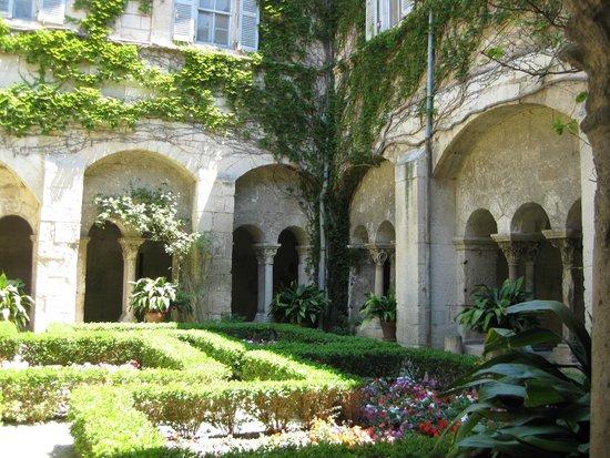 Saint-Paul de Mausole : One of the lovely gardens at St. Paul de Mausolee