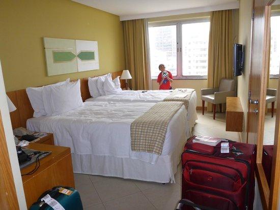 Hotel Marina Palace Rio Leblon: Bedroom
