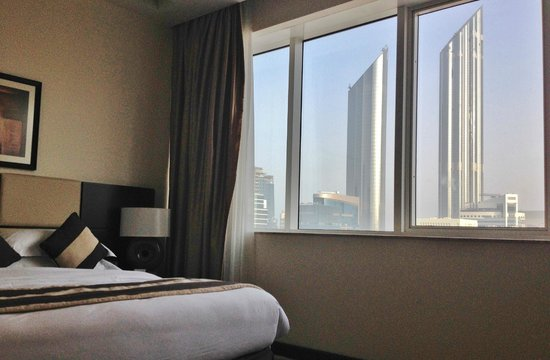 Cristal Hotel Abu Dhabi: View from bedroom