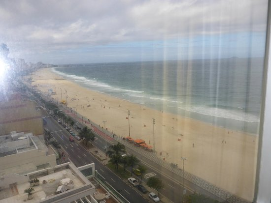 Hotel Marina Palace Rio Leblon : Another view from our window
