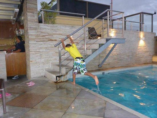 Hotel Marina Palace Rio Leblon: Rooftop pool