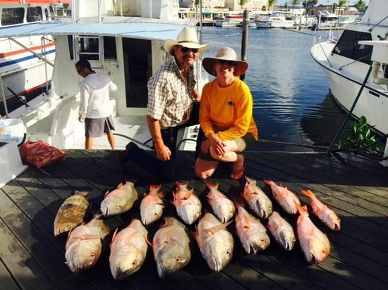 Key West Fishing Connection - Private Charters: We caught as many the first day, too!
