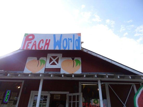 Georgia Peach World: Peach world exterior