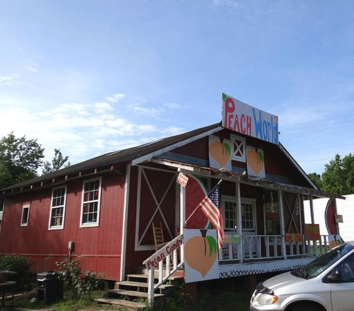 Townsend, GA: Peach world exterior