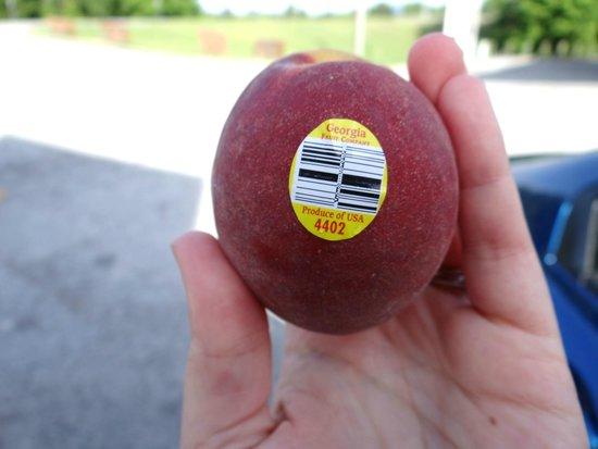 Georgia Peach World: Fresh peach