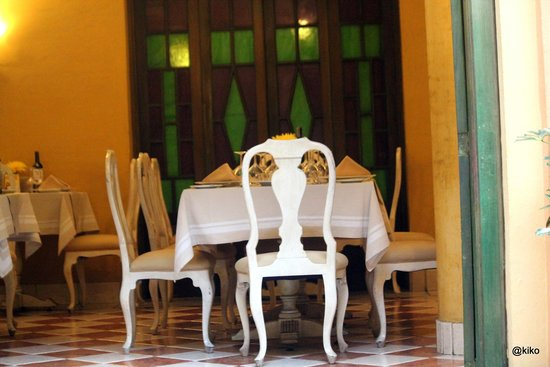 Hotel de la Opera: dining area