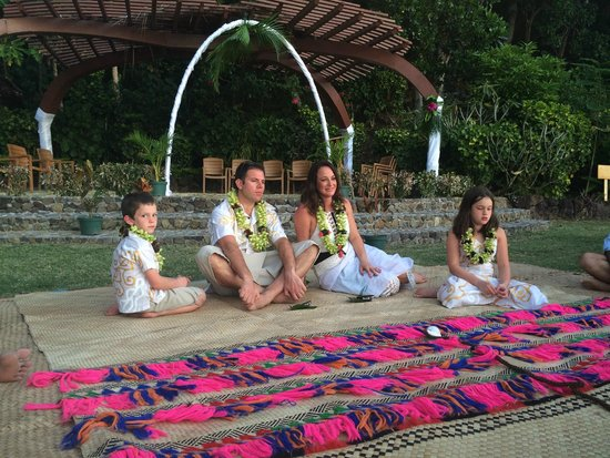 Turtle Island Resort: Renewing our vows