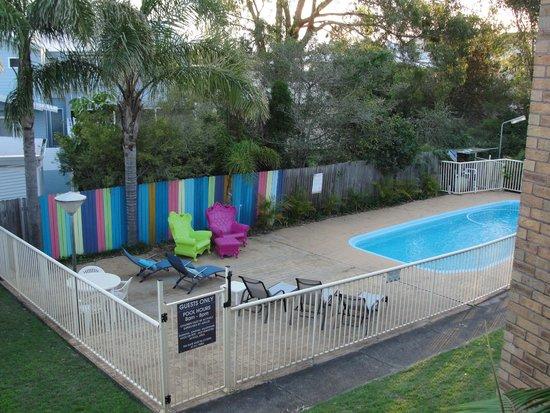 Hawks Nest Motel: Pool