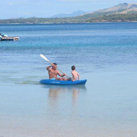 Turtle Island Resort: morning kyak