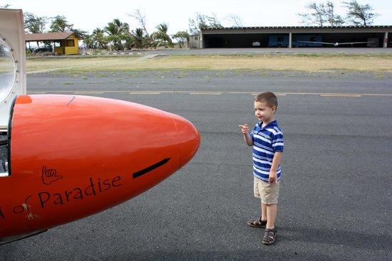 Honolulu Soaring: Future pilot