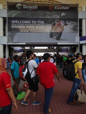 Sepang International Circuit : Entrance