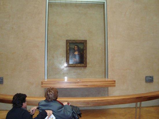 Musee du Louvre: LA FAMOSA GIOCONDA....