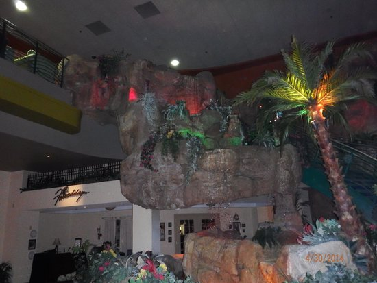 Waterfall By Staircase Picture Of Isle Of Capri Casino Hotel