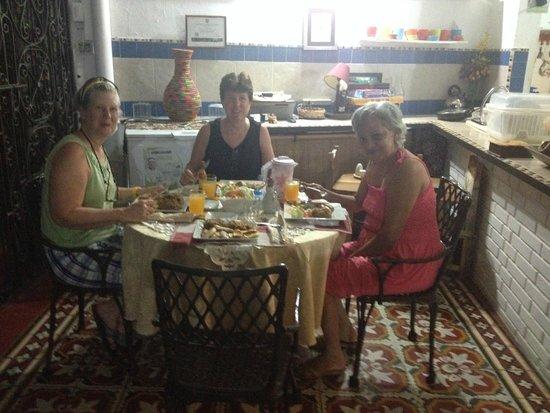 Casa Marta Cartagena: dinner with Marta