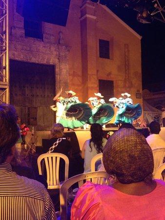 Casa Marta Cartagena: dance festival in the square nearby