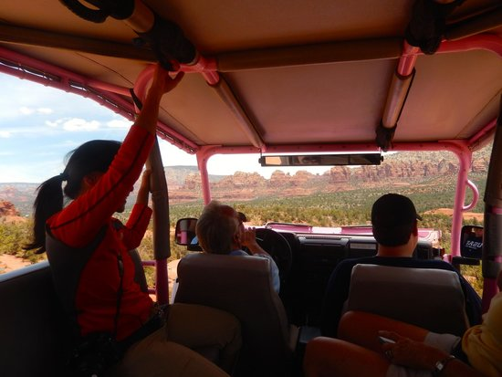 Pink Jeep Tours Sedona: Scenery to be seen all around!