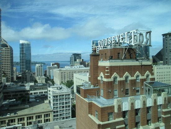 Grand Hyatt Seattle: Corner room