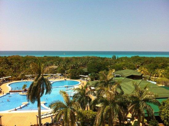 Blau Varadero Hotel Cuba: Vista da janela do quarto