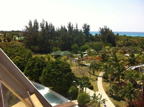 Blau Varadero Hotel Cuba: Vista da janela do quarto 2