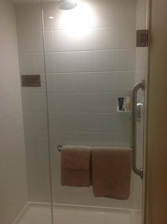Courtyard by Marriott Tulsa Downtown : Shower