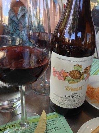 il Bistro Italiano: Italian food and a nice Barolo