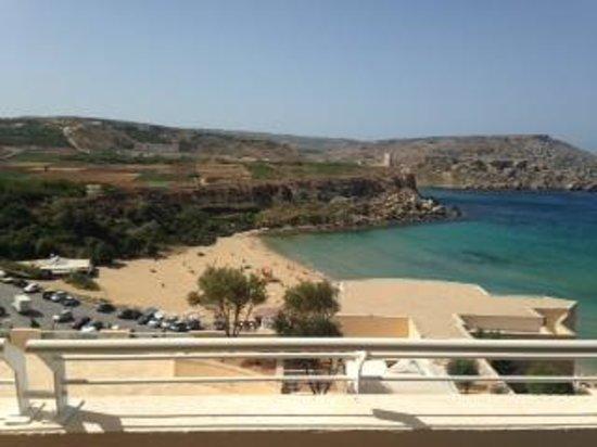 Radisson Blu Resort & Spa, Malta Golden Sands: room balcony