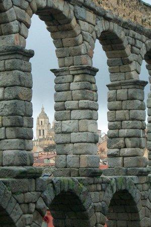 Aquädukt von Segovia: acueducto Iglesia