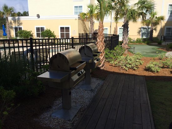Homewood Suites by Hilton Wilmington/Mayfaire: Grills
