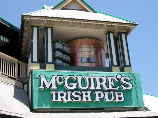 McGuire's Irish Pub: another outside view