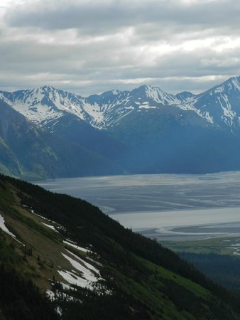 Hotel Alyeska: View from the top of the tram
