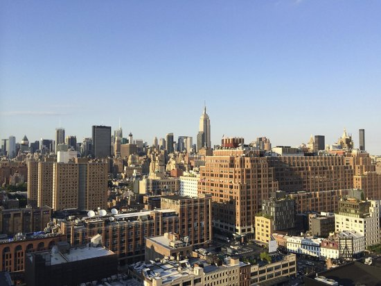 The Standard, High Line: View from our room - The Empire State building
