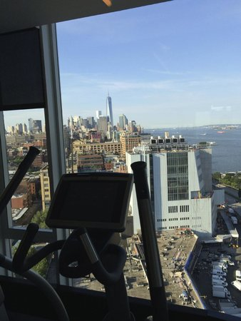 The Standard, High Line: View from the gym